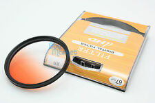 67mm Graduated Gradual Orange Color filter for Camera DSLR Lens