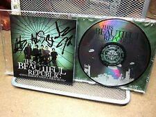 THIS BEAUTIFUL REPUBLIC Even Heroes Need Parachute CD autograph Ben Olin 2007
