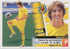 N°19 PINA # ESPANA VILLARREAL.CF ULTIMOS FICHAJES STICKER PANINI ESTE LIGA 2014