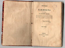 storia della sardegna del cavaliere d.giuseppe manno - tomo terzo libro nono