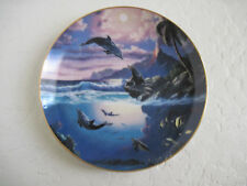 Dolphin Kisses SEALED WITH A KISS Plate