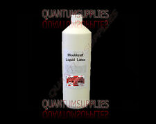 1LTR Liquid Latex Mould Moulding / Dipping Rubber 1 Litre SKIN SAFE