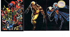 Marvel Universe  2014 complete 90 card Sapphire Parallel subset
