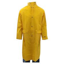 Custom Leather Craft - 2 Piece Yellow Rain Trench Coat R105