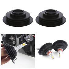 2x 3.2cm New Universal Headlight Dust Cover Cap For LED HID Xenon Halogen Bulb