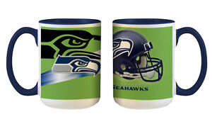 Seattle Seahawks Tazze di Caffè Becher Interno Cooler Tazza Calcio