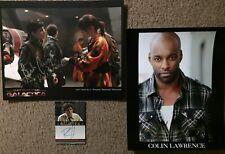 Battlestar Galactica Leah Cairns, Colin Lawrence; P. Campbell autographs Syfy