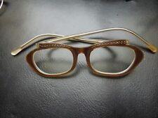 K691 Cat Eye Glasses 50s Nos Rare See Decr