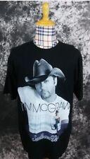 Adult Xl Tim McGraw Southern Voice tour T shirt black