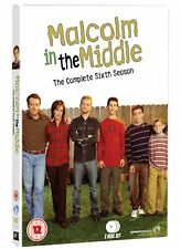 Malcolm In The Middle: The Complete Sixth Season DVD New