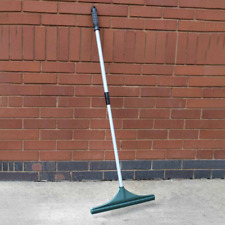 More details for artificial grass rake, telescopic handle, cleaning brush sweeper, garden lawn