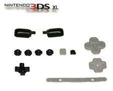 Nintendo 3DS XL A B X Y Full Buttons Replacement Black USA *OLD* PART,trigger