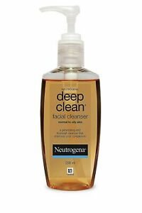 1 Pc Neutrogena Deep Clean Facial Cleanser | Normal To Oily Skin | 200 ML