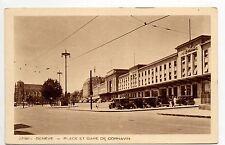 SUISSE SWITZERLAND canton de GENEVE GENEVE place et gare de Cornavin