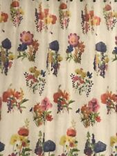 new PEVA Colorful Spring Summer FLOWERS SHOWER CURTAINS Saturday Knight frosted