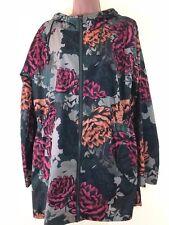 NEXT green floral print thin raincoat rain coat mac parka size 16 euro 44