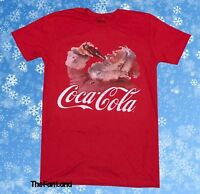 New Coca-Cola Santa Soda Men's Christmas Vintage Classic T-Shirt