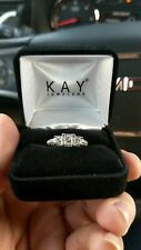 Wt. - 14k White Gold Engagement ring size 7, 1Ct.