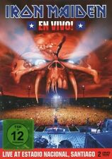 "IRON MAIDEN ""EN VIVO! LIVE IN SANTIAGO DE CHILE"" 2 DVD NEU"