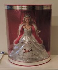 2001 Holiday Celebration Barbie Special Edition Silver Star Dress with Red Stole