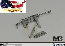 1/6 scale M3 Submachine gun World War II US Army Toys Weapon Models PHICEN ❶USA❶