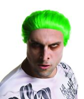 Suicide Squad The Joker Wig Adult Jared Leto Cosplay Green Hair DC Comics New