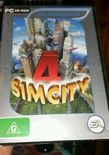 Sim City 4 CASE AND BOOKLET ONLY NO GAME PC  - FREE POST