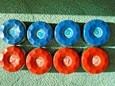 """American Shuffleboard Table Replacement Pucks  Set of 8- 12oz each 2.38"""" round"""