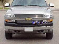 Billet Grills Insert FRONT UPPER 01 02 Chevy Silverado 2500 3500 HD Grille