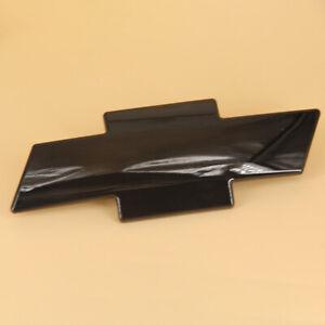 For 1999-02 Chevrolet Silverado 1500 2500 3500 Black BowTie Front Grille Emblem