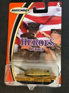 2003 Matchbox Heroes Series M1A2 ABRAMS TANK NIP