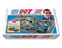 A. C. Gilbert James Bond 007 Road Race Play Set Box