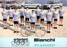 Team BIANCHI PIAGGIO 81 Cycling ciclismo BARONCHELLI WOLFER knudsen SEGERSALL