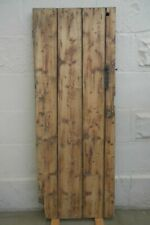 More details for c18th plank & batten pine door witch marks