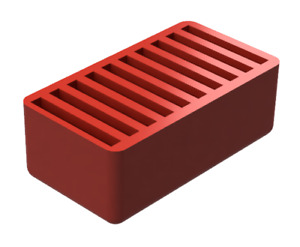 10 SD Card Holder Red