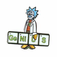 Rick and Morty lapel pin, Phish pin, Einstein,Glow in the Dark,Genius,Mango Song