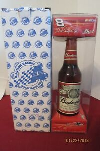 Dale Earnhardt Jr. #8 1/64 2002 Monte Carlo Car In A Budweiser Bottle