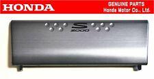 HONDA GENUINE S2000 AP1/AP2 Dark Silver Radio Lid Cover Trim Stereo OEM