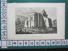 C1830 Antik Yorkshire Aufdruck ~ Lestingham Church
