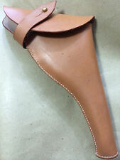 WWI & WWII BRITISH .455 WEBLEY REVOLVER LEATHER HOLSTER - Reproduction