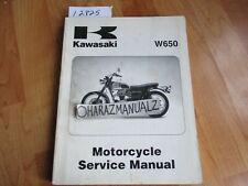 HIGH DEFINITION 1999-2006 Kawasaki W650 EJ650  Repair /& Maintenance Manual