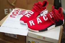 THE OG Rosso Adidas Pharrell Williams NMD Corsa UK 11 Human US 11.5 46 NUOVO ridotto!