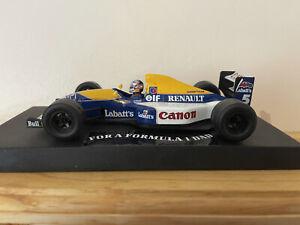 Nigel Mansell 1/24 Model Car F1 Williams Fw14