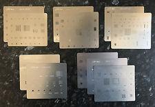BGA Stencil Set For iPhone 4, 4s, 5, 5c, 5s, 6, 6 Plus, 6S, 6S Plus, 7, 7plus
