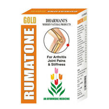 Rumatone Gold Herbal ( 60 Capsules ) Arthritis Joint Pain Relief Treatment