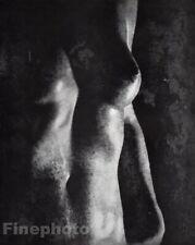 1955 Vintage Heinz Hajek-Halke Surreal Female Nude Breast Original Photo Art