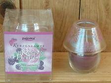 Duftkerze als Kerzenlampe, Roses & Berries, mild & fruchtig, in Verpackung