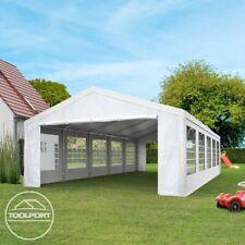 Partyzelt Pavillon 3x5m Festzelt Bierzelt Gartenzelt Vereinszelt Markt Zelt weiß