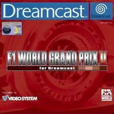 SEGA DREAMCAST GIOCO-f1 World Grand Prix II (2) (con imballo originale)