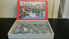 MARKET SQUARE 1000 PIECE COMPLETE JIGSAW PUZZLE (HOUSE OF PUZZLES)